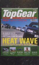 TOP GEAR MAGAZINE JUL-2002 - Focus ST170, Morgan Aero 8, Golf GTi, Mini Cooper S