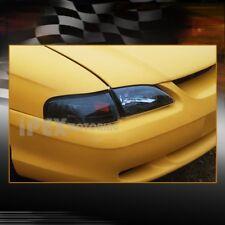 New For   Ford Mustang Gt Cobra Black Headlights W Corner Light Piece