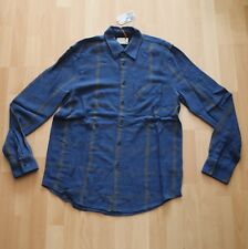 NEU Nudie Jeans,  Hemd Shirt Sten Window Check C28 Oden Blue M