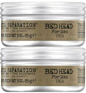 Tigi Bed Head B For Men Matte Separation Workable Wax 2 x 85g Duo Pack