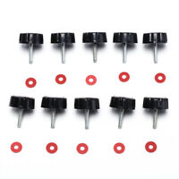 10X Spare Screws Nuts For Spinning Fishing Reel Fishing Tackle Accessories To MO