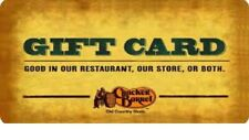 Cracker Barrel Gift Card$50.00 -Instore use