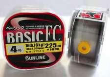 Sunline System 100 Fluorocarbon Shock Leader Line 30m 90lb 7056