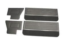 Luxus Türpappen Türverkleidungen mit Teppich & Zierleiste für VW Golf 1 Cabrio