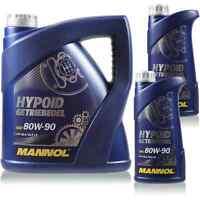6 Liter Original MANNOL Hypoid Öl Getriebeöl 80W-90 API GL 4/GL 5 LS