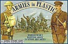 Armies In Plastic 5406 WWI British Army - Steel Helmets Figures-Wargaming