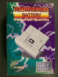 Rechargeable Battery Pack With AC Nintendo Gameboy Pocket Game Boy New