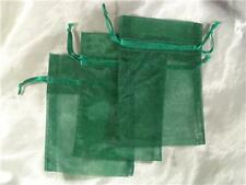 50 4X6 Hunter Green Organza Gift Bag Bags Wedding Favor