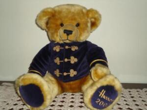 Harrods Knightsbridge LARGE Christmas Bear 2000