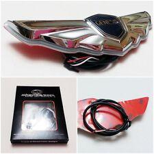 Grille LED Light Emblem Badges White for Hyundai Genesis Sedan 2010-13 NEW