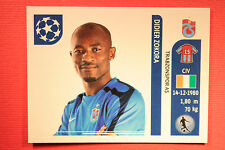 PANINI CHAMPIONS LEAGUE 2011/12 N 132 ZOKORA TRABZONSPOR WITH BLACK BACK MINT!!