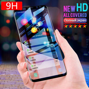For Samsung Galaxy S21 5G S10 S20+ S8 Note 20 S9 Tempered Glass Screen Protector