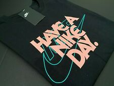 Nike Have A Nice Day Men's Sz Medium Black T shirt