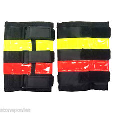 Reflective Leg Wraps Horse Riding Equine Safety Equipment Vis Equips - 1 Pair