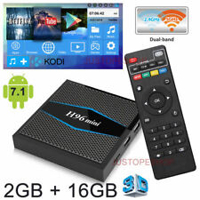 2018 H96 Mini Quad Core 2GB+16GB TV Box Android 7.1 Kodi 4K HD Media Player