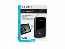 Iphone iPad iPod Touch Mac Belkin Tizi Mobile Live TV Watch DVB-T/DTT Camping