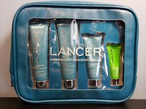 Lancer The Method Intro Kit Oily-Congested Skin NEW Polish Cleanse Nourish Mask