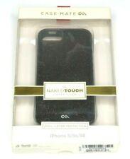 Case Mate Naked Tough Case Sheer Glam Case for iPhone 5 5s SE Black Glitter NEW