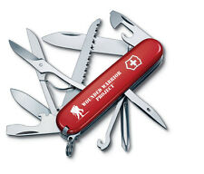 NEW Victorinox Swiss Army 91mm Knife  Wounded Warrior FIELDMASTER RED 55074.US1