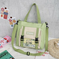 Ladies Canvas Bag Cute Large Capacity Crossbody Women Large Capacity Student