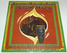 Savage sounds from South Africa - Rare 60's beat garage growlers COMP. VINYL LP