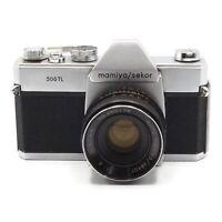 Vintage 1966 Mamaya/Sekor 500TL 35mm SLR Camera w 50mm 1:2 Lens