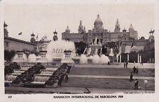 SPAIN - Barcelona - Exposicion Internacional 1929 - Foto Cartolina