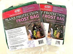 Du Pont Plant Cover Warm Worth Blanket Frost Protection Bag 6 ft Set 2 bag Green