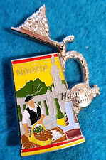 New listing Madrid Beer Stein Tankard Series Opening Lid Spanish Baker Hard Rock Cafe Pin Le