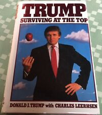 SIGNED ! President DONALD TRUMP Surviving At The Top American Business biography