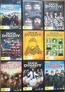 Duck Dynasty Collection Seasons 1 - 9 (DVD, 2012 ) Region 4