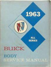 1963 BUICK LE SABRE INVICTA ELECTRA SPECIAL SKYLARK RIVIERA BODY SERVICE MANUAL