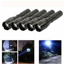 5X G700 X800 10000Lumen Zoomable T6 LED Flashlight Torch Adjustable Light 18650