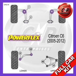 Fits Citroen C6 (2005-2012)  Powerflex Complete Bush Kit