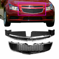 Suit For CHEVY CRUZE 2011-2014 Front Bumper Upper & Lower Grille PAIR 1 SET of 2