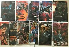 VENOM #25 26 27 28 29 - 1ST 2ND 3RD PRINT LOT OF 11 + WRAITH - 2020 MARVEL CATES