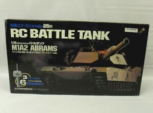 Marui M1A2 Abrams 1:24 RC Battle Tank Airsoft Canon with Remote NEW IN OPEN BOX