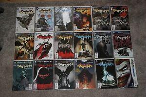 Batman New 52 Vol 2 0-52 23.1-23.4 Complete Run Lot of 59 1st Court of Owls
