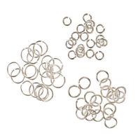 60 925 Sterling Silver Open Jump Rings 3mm 4mm 6mm Jewellery Making Findings
