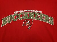 Tampa Bay Buccaneers NFL Team Apparel Mens Red Long Sleeve T Shirt 2XL NWT