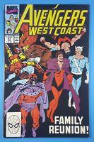 West Coast Avengers #57 Magneto Scarlet Witch Quicksilver Marvel Comics 1990