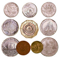 CAPE VERDE COINS 5 - 100 ESCUDOS OLD COLLECTIBLE COINS FROM AFRICA