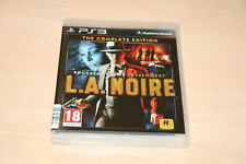 L.A. noire the complete edition Uncut-ps3 como nuevo top USK 16