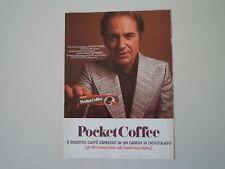 advertising Pubblicità 1972 FERRERO POCKET COFFEE