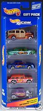Hot Wheels.com 5 Pack Gift Set 2000 NEW 25371 Nomad Impala T-Bird Woodie Ford