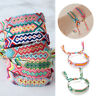 Boho Ethnic Handmade Color String Cord Woven Braided Friendship Bracelet Bangles