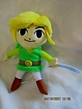"""Legend Of Zelda Wind Waker Toon Link 8"""" Plush Toy Nintendo 2014"""
