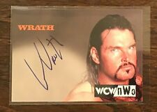Wrath Topps WCW autograph card 1998 1999 auto