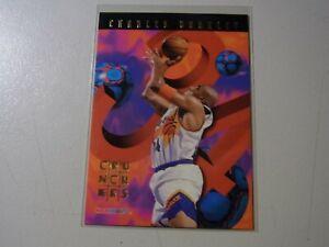 1995-96 Charles Barkley Phoenix Suns NBA Hoops Crunchers #10 of 25 MINT