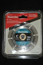 "New Sealed Makita A-94677 4"" Segmented Rim Diamond Masonry General Blade"